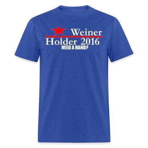 Weiner/Holder 2016 in Blue - Men's T-Shirt