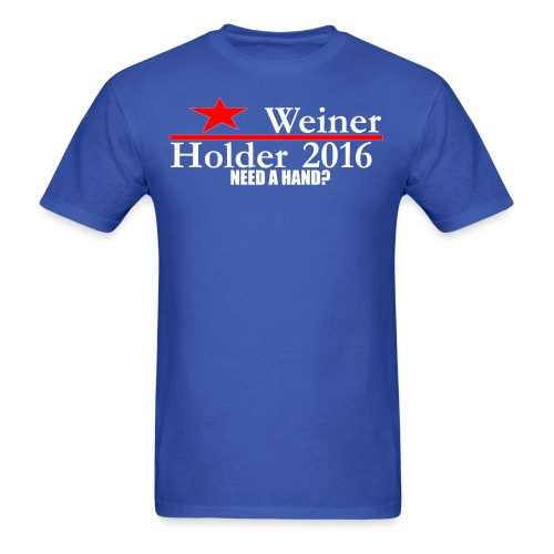 Weiner/Holder 2016 in Blue - Men's T-Shirt