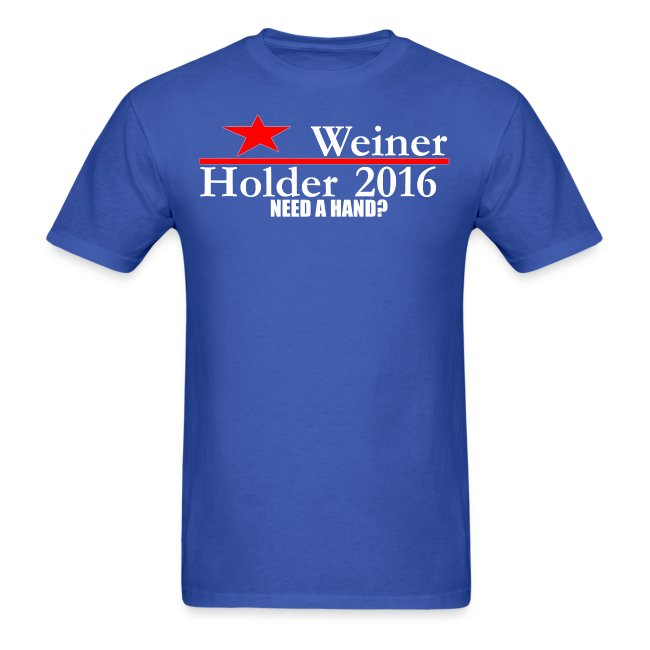 Weiner/Holder 2016 in Blue