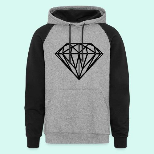BLACK DIAMOND - Colorblock Hoodie