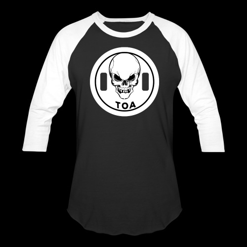 Triumph or Agony Baseball Tee - Black - Baseball T-Shirt