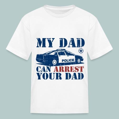 Police Dad - Kids' T-Shirt