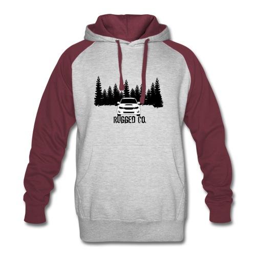 Rugged Co. logo hoodie - Colorblock Hoodie
