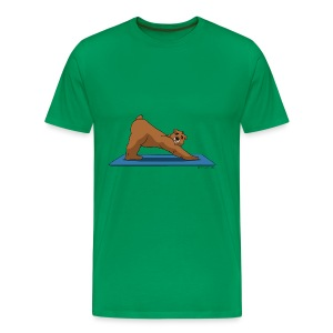 Oh So Yoga - Downward Dog - Men's Premium T-Shirt