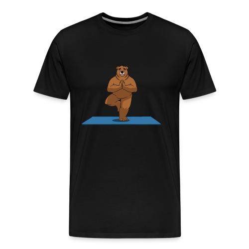 Oh So Yoga - Tree - Men's Premium T-Shirt