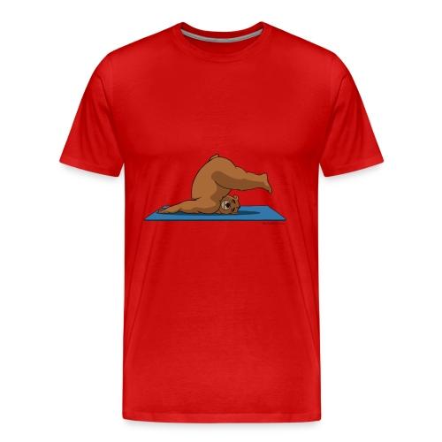 Oh So Yoga - Plow - Men's Premium T-Shirt