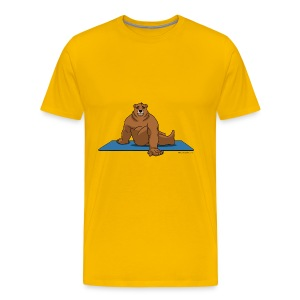 Oh So Yoga - Spine Twist - Men's Premium T-Shirt