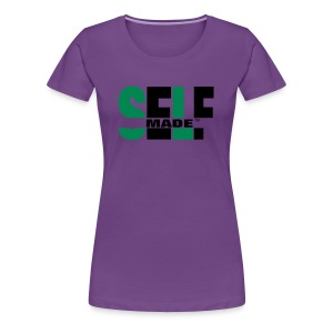 Self Made Savvy - Women's Premium T-Shirt