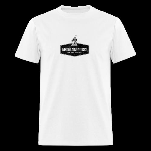 FarOut AdventuresLogo Shirt  - Men's T-Shirt
