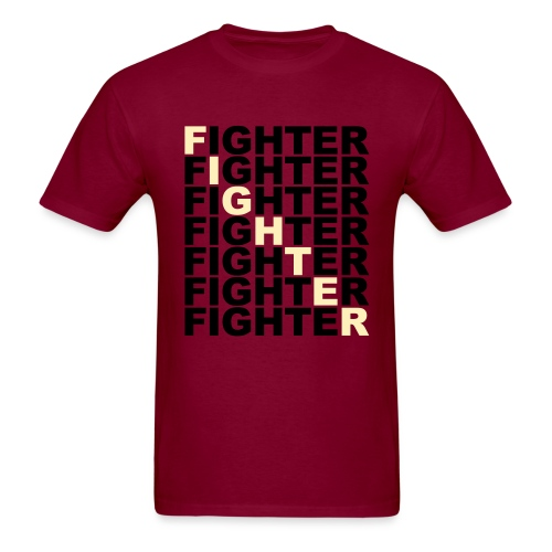 Fighter Block Tee - Men's T-Shirt