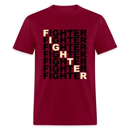 Fighter Block Tee - Men's T-Shirt