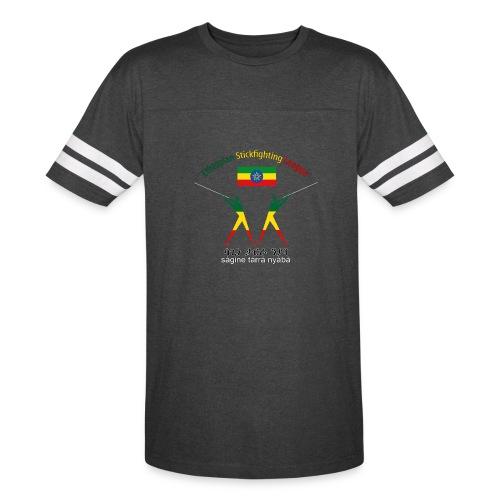 Ethiopian Stickfighting League Logo Vintage Sports Shirt - Vintage Sport T-Shirt