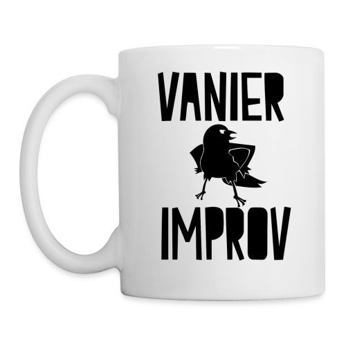 Vanier Improv White Mug - Coffee/Tea Mug