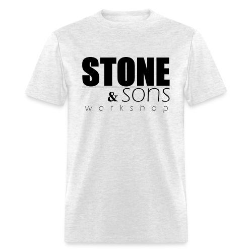 Stone & Sons Men's T-shirt (black logo) - Men's T-Shirt