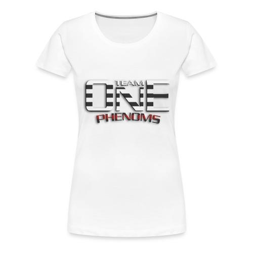 STRIPED WHITE - Women's Premium T-Shirt