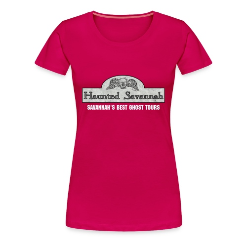 Haunted Savannah Logo (basic) - Womans Tee - Women's Premium T-Shirt