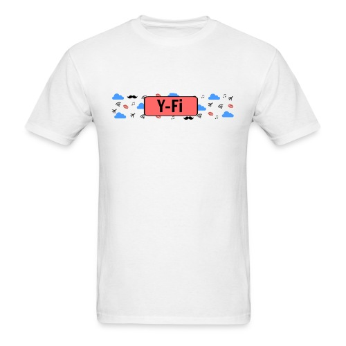 Y-Fi Logo Shirt - Men's T-Shirt