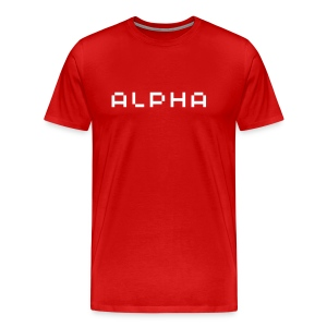 Alpha T-Shirt - Men's Premium T-Shirt