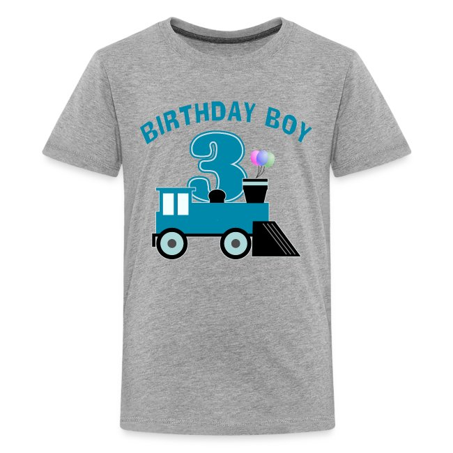 c16c3639 One Stop T-Shirt Shop   3rd Birthday Boy Shirt - Kids Premium T-Shirt