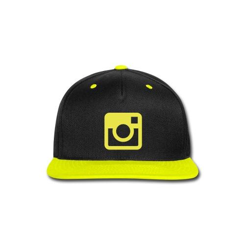 Insta hat - Snap-back Baseball Cap