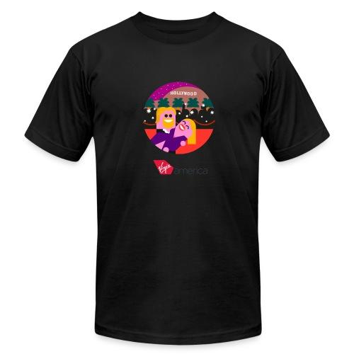 Men LAX Short Sleeve T-Shirt - Men's Fine Jersey T-Shirt