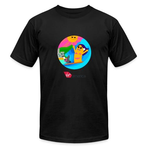 Men Short Sleeve T-Shirt - Men's Fine Jersey T-Shirt