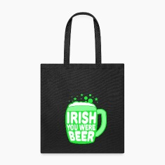 Irish You Were Beer Bags & backpacks