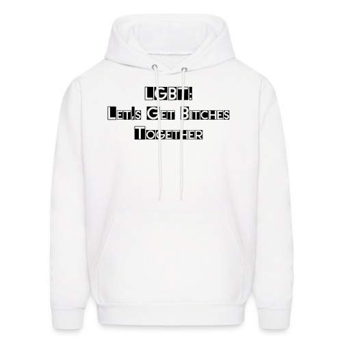 LGBT: A Message of Unity - Men Hoodie - Men's Hoodie