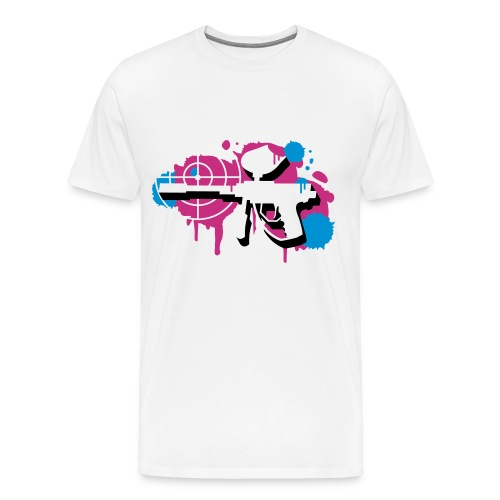 A paintball gun - Men's Premium T-Shirt