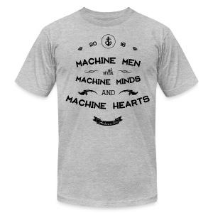 Machine Men Shirt Unisex - Men's Fine Jersey T-Shirt