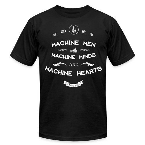 Machine Men Shirt unisex - Men's Fine Jersey T-Shirt