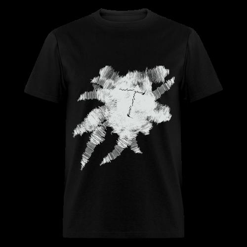 Black Scribble T - Men's T-Shirt