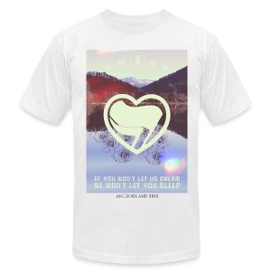 We won't let you sleep Shirt unisex - Men's Fine Jersey T-Shirt