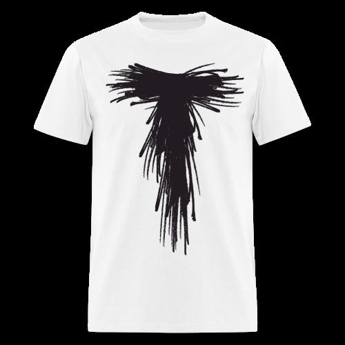 White Solo Scribble T - Men's T-Shirt