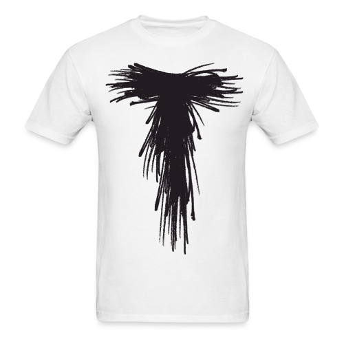 White Solo Scribble T - Men's T-Shirt