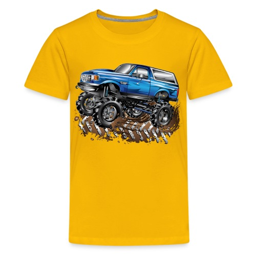 Kids' Premium T-Shirt Monster truck - Kids' Premium T-Shirt