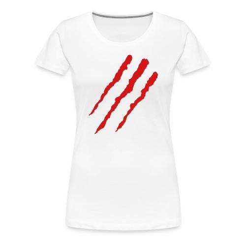 Claw Marks - Women's Premium T-Shirt