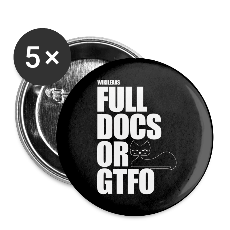 Full Docs or GTFO - Large Buttons