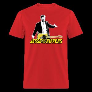 Jesse (Marsch) & the Rippers – Red Men's T-Shirt - Men's T-Shirt