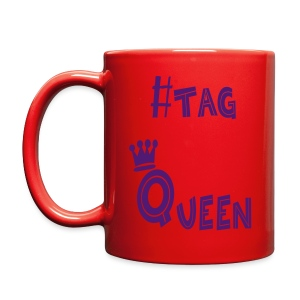 #tag Queen - Full Color Mug