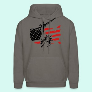 AMERICA BITCHES - Men's Hoodie