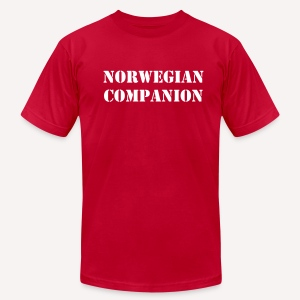 Norwegian Companion - Men's T-Shirt by American Apparel
