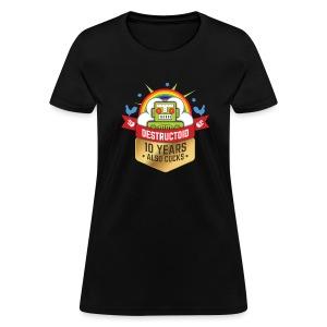 10 Years of Destructoid - Women's T-Shirt