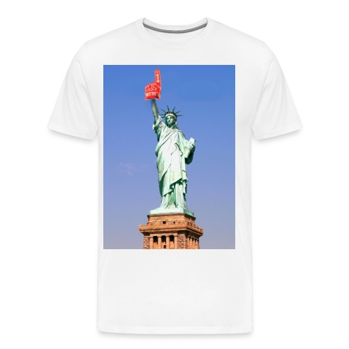 New! Statue of Liberty USA #1 - Men's Premium T-Shirt