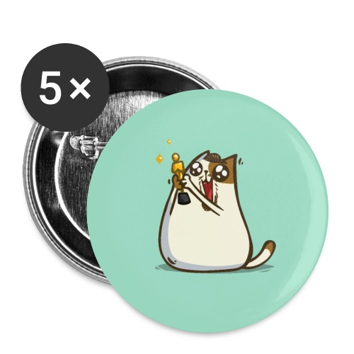 Cataprio — Friday Cat №45 - Large Buttons
