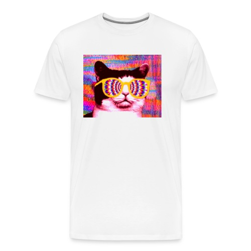 Awesome Cat - Men's Premium T-Shirt