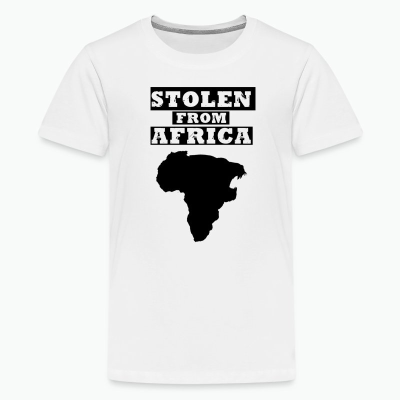 Stolen From Africa Kids Premium T-Shirt (Black Logo) - Kids' Premium T-Shirt
