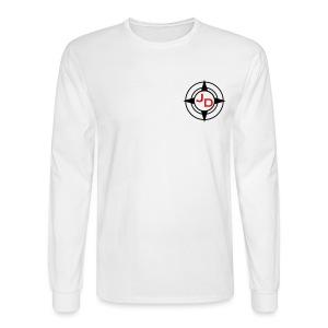 Jersey Devil Men's Long Sleeve White: Tuna - Men's Long Sleeve T-Shirt
