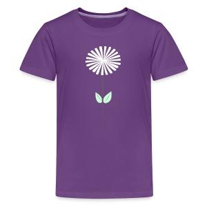 Kids' Purple Dandelion Premium T-Shirt - Kids' Premium T-Shirt