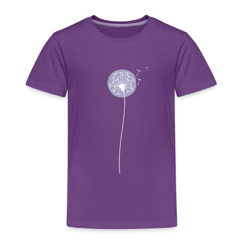 Toddler Shadow Dandelion Premium T-Shirt - Toddler Premium T-Shirt